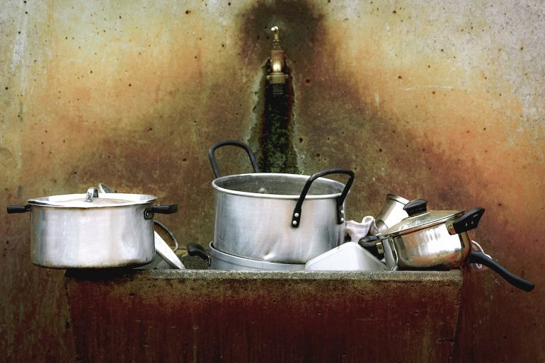 干净的厨房