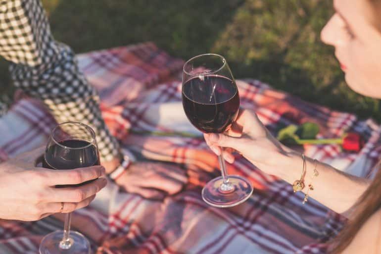 浪漫的野餐